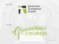 Greenview Church Rebrand