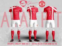 Manchester United Away Kit 1999