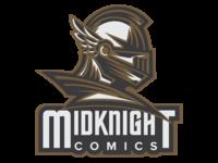 Midknight Comics Logo Rebrand