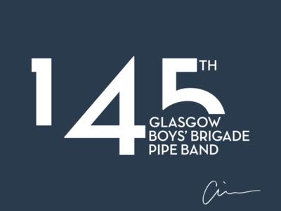 145th Glasgow Boys' Brigade Pipe Band