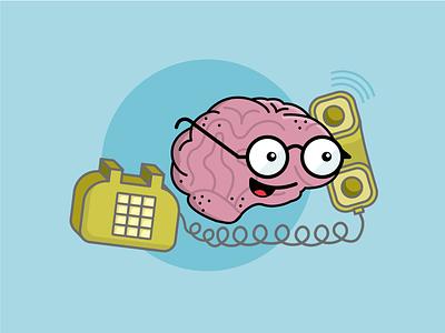 Editorial Illustration on Mental Health human nyc spot illustration editorial illustration editorial brain cute mental health