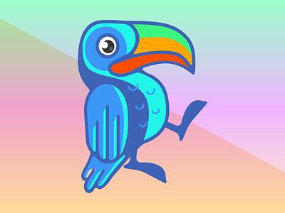 Toucan Do It! illustration jungle toucan bird vector logo icon