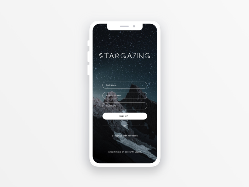 Sign Up dailyui 001
