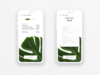 Payment Screen ui flat web app vector design ux daily ui 002