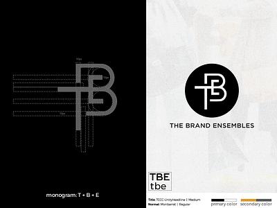 The Brand Ensembles branding logomark logotype illustration