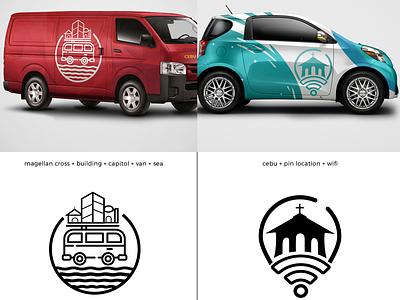 Rebranding proposal vector logo icon branding illustration