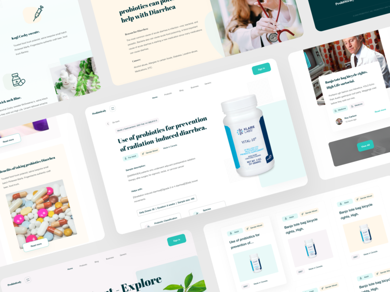 Web Platform for Medicine - web pages doctor graphics product page about us page covid-19 disease health app health medical equipment doctor app pharmacy web service branding cards ui uidesign uiuxdesign landing page design web design medical care medical app eccomerce