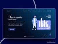 Digtal Agency Task Header Exploration