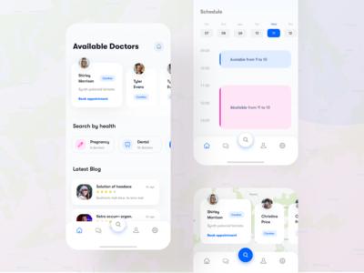 Medical app for doctors - IOS app