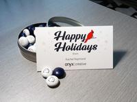 2018 Onyx Creative Holiday Card