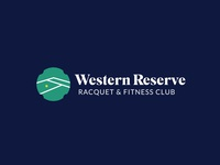 Western Reserve Racquet & Fitness Club Logo Concept 2