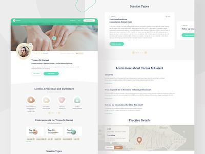 DaoCloud design proposal -  Pro Profile branding studio minimalist ux uidesign minimal web ui digital design wellness