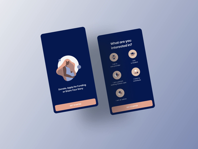 The Victoria Project onboarding minimalist illustration uidesign logo ui design wellness healthcare illustratiom minimal onboarding mobile app digital