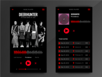 UI UX Music Player