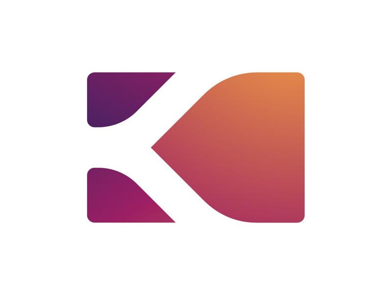 K-CARD logo card k