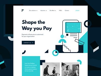 Facilipay order user pay digital wallet coffee shop customers ireland branding logo designer ux ui design app payment app payment