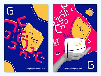 TGCC Poster customer gift card digital graphic design logo illustration design branding