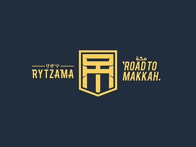 Road to Makkah makkah islam handlettering logo