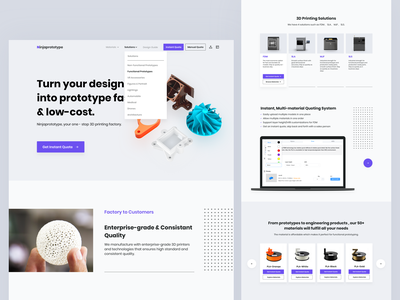Ninjaprototype Web Design typography ux app branding factory prototype lists model homepage interface icon website web ui