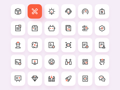 ICONS for CYCLONE WEB illustration dark icon dark ui ux application design application app design app website design webdesign website web icons design icon design icons icon