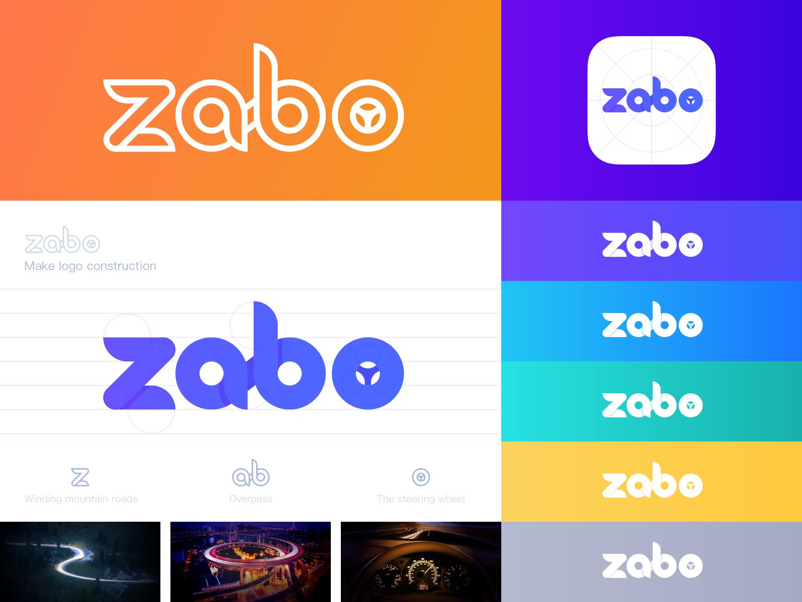 Zabo Logo Design ui illustration icon logo