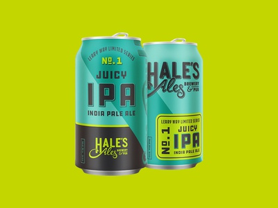 Hale's Ales Leary Way Limited Series system beverage beer washington seattle design product packaging