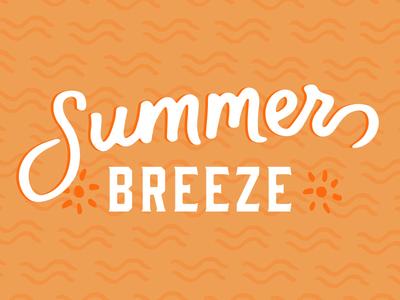 Summer Breeze seattle color design summer lettering hand
