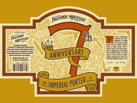 Fig Mtn 7th Anniversary Label