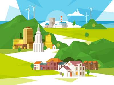 Generating energy for homes and business