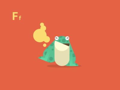 Flatulent Frog