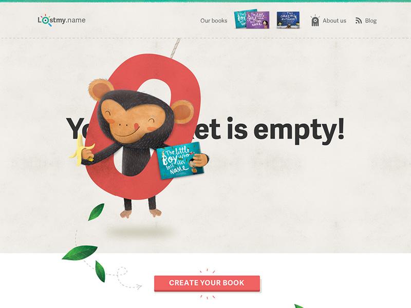 Empty basket empty basket monkey zero