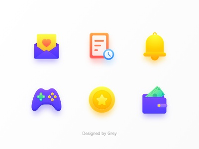 icon ui flat app set vector icon colorful illustration color design