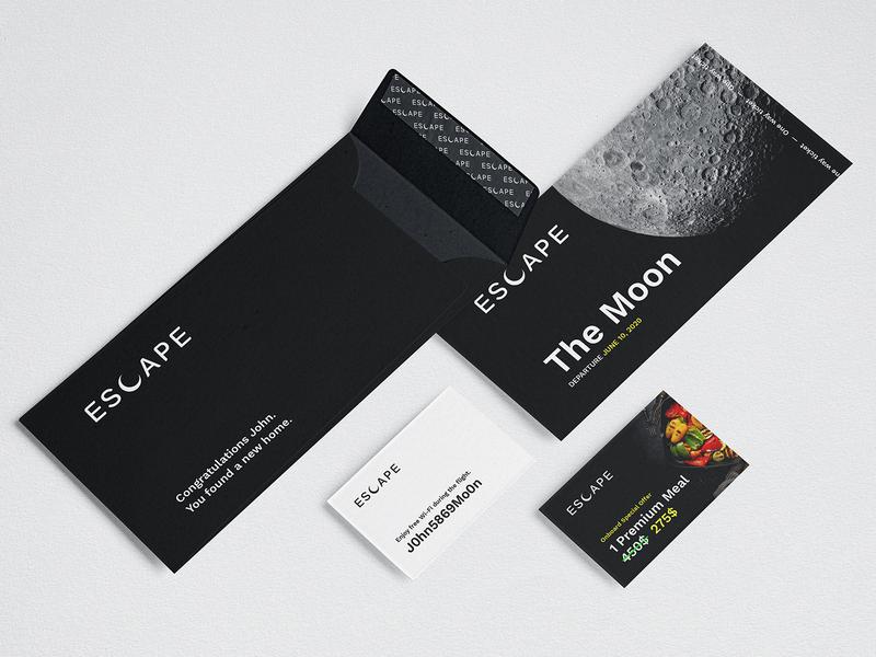 Escape – Find a new home. brand identity brand design branding logo design logo