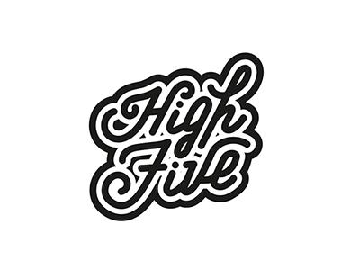 High Five vector illustrator illustration drawing type typography font letters handlettering lettering