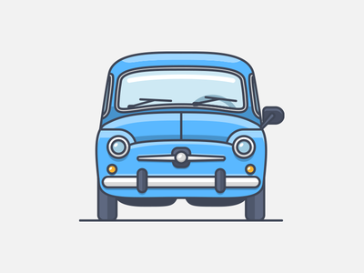 Seat 600 illustration spain 600 seat icon illustrator