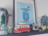 [work space] new shelf