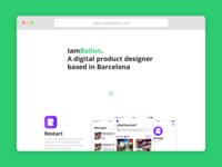 New website product design ux ui website design