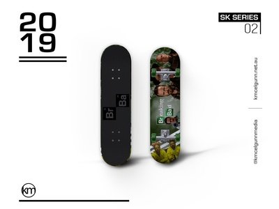 SK SERIES 01 | Breaking Bad Skateboard Deck