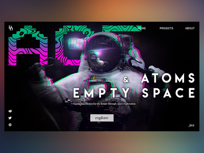 Atoms & Empty Space