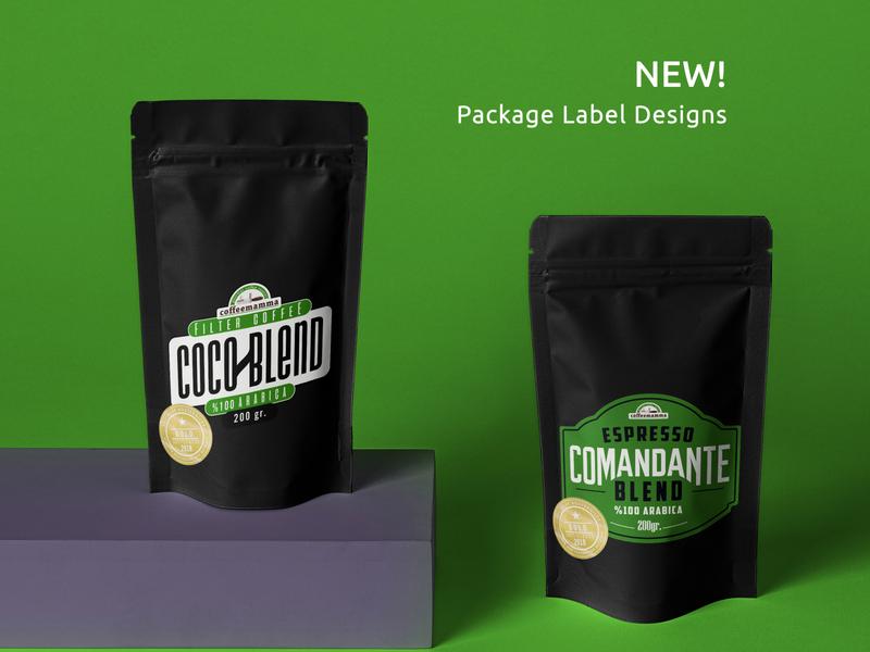 Coffee Packaging Labels