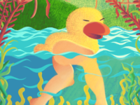 Leggy Duckling