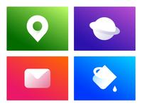 Samsung Galaxy M series Icons