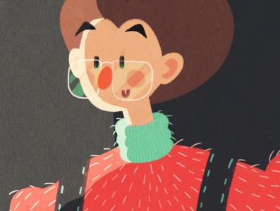 Fuzzy Sweater :)