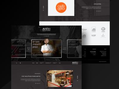 Avir web design ux branding