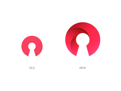 Logo Redesign. Before/After after before type design isotype logo