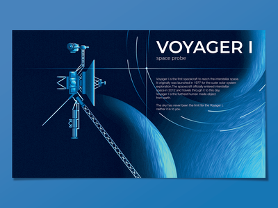 voyager 1 starship stars star planets planet spaceship voyager probe space grungy textured illustration