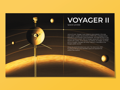 voyager 2 planets planet record voyager voyage starship spaceship space stars grungy textured illustration