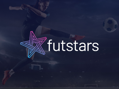 Futstars new logo design