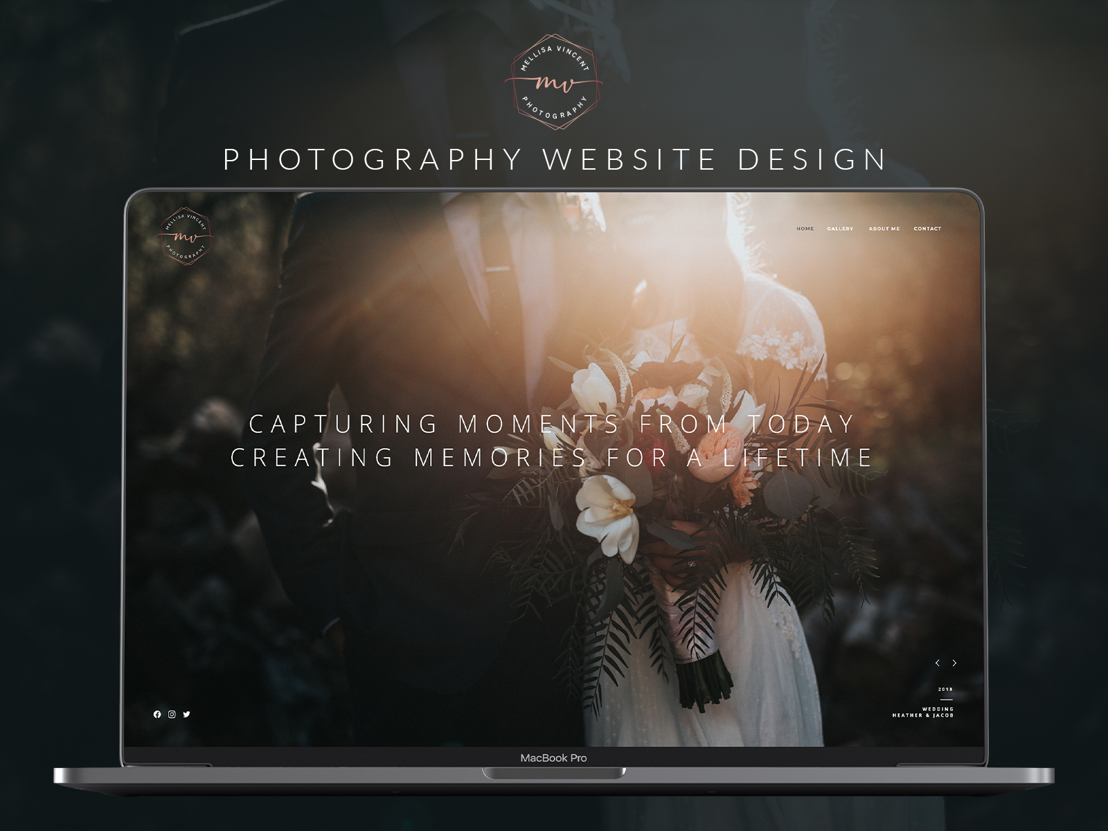 Photography Website Design By Steven Francis On Dribbble