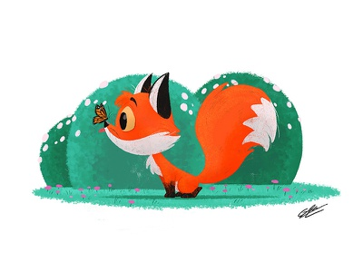 BABY FOX character design art animals illustration art character drawing illustration cute illustration cute animal cute baby animal fox